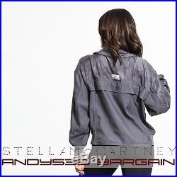 $275 Stella McCartney adidas Jacket ClimaLITE Essential Track Top Zip Women M L