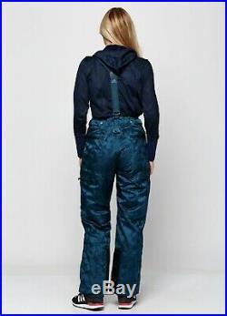 $289 Adidas by Stella McCartney Winter Ski Gore-Tex Pants Floral Print Sport 34