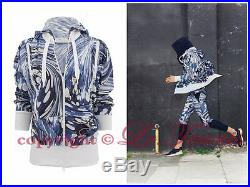 $310 Adidas By Stella Mccartney Printed Hoodie Jacket Golf Running Gym S 34 36