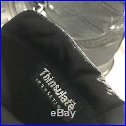 ADIDAS Stella McCartney Neevio Women's Black Snow Duck Thinsulate Boots Sz 5.5