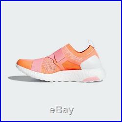 Adidas BB6266 Women Ultra Boost X Stella McCartney shoes sneakers pink orange
