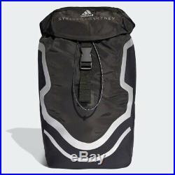 Adidas Backpack Run by Stella McCartney DT5419 Black Silver Unisex Men Women