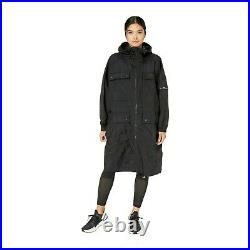 Adidas By Stella Mccartney Athletics Black Parka Size M Fk9044
