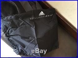 Adidas By Stella Mccartney Gym Sport Travel Yoga Black Nwt