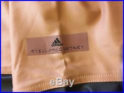 Adidas By Stella Mccartney pannelled leggings rose dusky blush pink XS BNWT