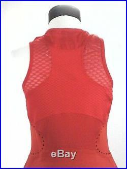 Adidas STELLA MCCARTNEY Tennis Dress Q3 Barricade Orange CY1905 Women's $130 New
