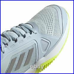 Adidas Stella McCartney Barricade Boost Womens Tennis Trainer Shoe Blue/Silver