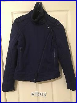 Adidas Stella McCartney Ladies Dark Purple Ski Jacket, Size 36 UK 8
