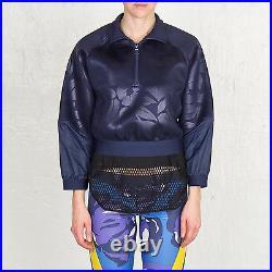 Adidas Stella McCartney Running Embossed Sizes S to L Sweatshirt Jacket AA8502