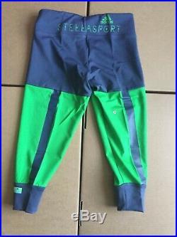 Adidas Stella McCartney Stellasport 3/4 TIGHTS Urban Sky/ Real Green S21214
