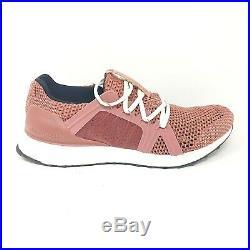 Adidas Stella McCartney UltraBoost Pink Rose Black White Running Shoes Size 10.5