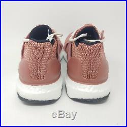Adidas Stella McCartney UltraBoost Pink Rose Black White Running Shoes Size 9.5