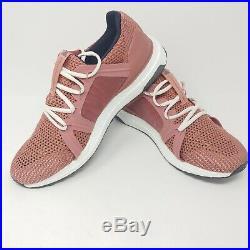 Adidas Stella McCartney UltraBoost Running Shoes Pink Rose Black White Size 9.5