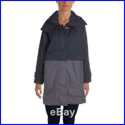 Adidas Stella McCartney Womens Navy Winter Parka Coat Outerwear M BHFO 2632