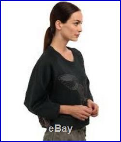 Adidas Stella McCartney womens Weekender Sweatshirt Owl M61669 size 2XS new