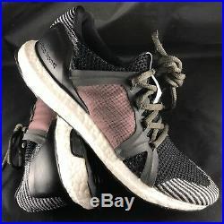 Adidas Ultra Boost Stella McCartney S81678 Raven SMC/Smoked Pink SMC/Eggshell