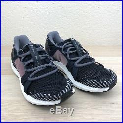 Adidas Ultraboost by Stella McCartney Smoke Pink Black AQ0796 Women's Size 5