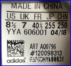 Adidas Ultraboost by Stella McCartney Smoke Pink Black AQ0796 Women's Size 8.5