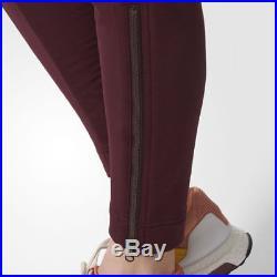 Adidas Women's Stella Mccartney Training ESS Moto Long Pants Red BQ8339
