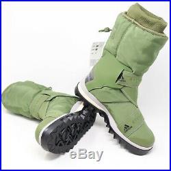Adidas X Stella McCartney Winterboot Olive Green Snow Boots $220 Womens Size 5.5