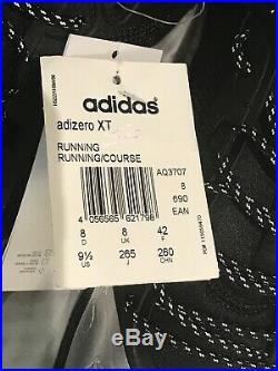 Adidas by Stella McCartney Adizero Women Black n Silver Shoes AQ3707 Size 8-BNIB
