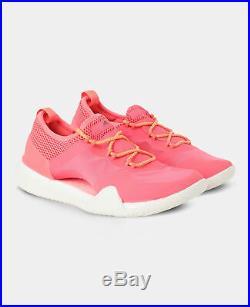 Adidas by Stella McCartney Pureboost X Trainers UK 5 Pink Red White