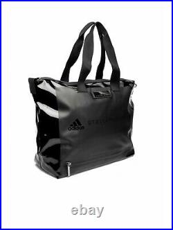 Adidas by Stella McCartney Studio Gym Bag FI6951 RP £240 Black Logo Shoulder Bag