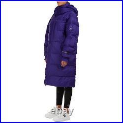 Adidas by Stella McCartney Winterjacke damen fu3607 Kapuze Viola jacke sakko