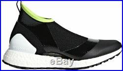 Adidas by Stella McCartney Women's socks trainers black fabric UK 4.5 -IT 37 1/3