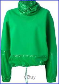 Adidas von Stella Mccartney Neopren Reich Grün Sweatshirt Nwt G8883