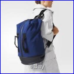 Adidas x Stella McCartney Sports Bag Big AP8542 Blue Luxury Women's Black Rare