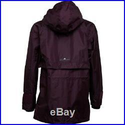 Adidas x Stella McCartney Womens Essentials Winter Jacket Dark Burgundy RRP 308$