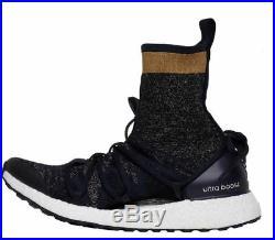 new style b8254 0ad47 Adidas x Stella McCartney Womens UltraBOOST X Mid Running Shoes Legend Blue /Blac