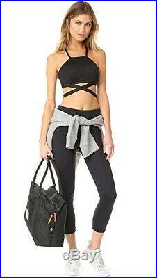 Bnwt Carbon38 Michi Black Dusk Bra Adidas Gym Yoga Stella Alo Mccartney Koral S