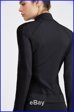 Bnwt Carbon38 Michi Ignitevmid Layer Stella Jacket Black Adidas Gym Mccartney S