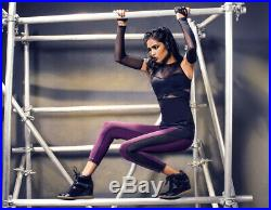 Bnwt Michi Carbon38 Stella Revolve Mccartney Adidas Ferro Black Top Tank Koral M