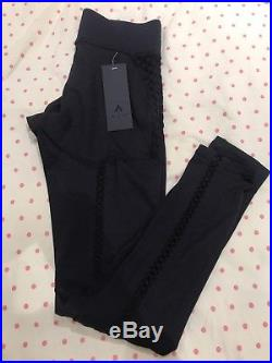 Bnwt Michi Revue Leggings Adidas Stella Grey Mccartney Black Yoga Gym Sexy M