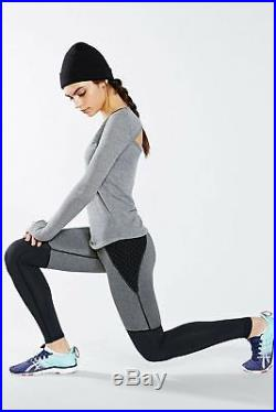Bnwt Michi Shadow Leggings Adidas Stella Grey Mccartney Black Yoga Gym Sexy M