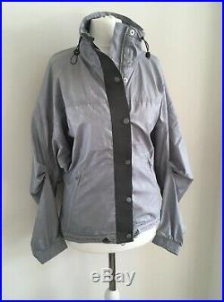 Grey Adidas Stella McCartney sports running yoga top jacket £140 size XS 6 8