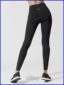 Michi Alchemy Laced High Waisted Leggings Adidas Stella Mccartney Black Gym Xs/s