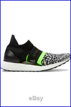 NIBAdidasUltraBoost X 3D Stella McCartneySneakerBlack Leopard Neon Grn6-10