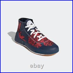 New Adidas x Stella McCartney Treino Mid-Cut Print Woman's Shoes (FY1641) Navy