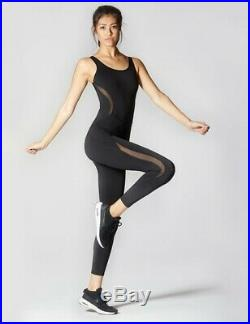 New Khloe Kardashian Carbon38 Michi Black Jumpsuit Adidas Stella Mccartney Koral