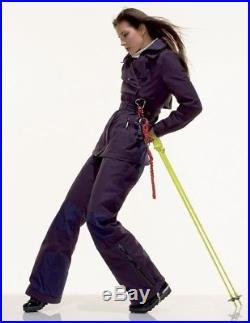 Pantalon violine Salopette de ski snow Stella McCartney pour Adidas T 38 en TTBE