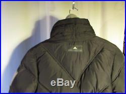 Quilted Vest / Ski Jacket Adidas Stella Mc Cartney Grey Anthracyte Size 40