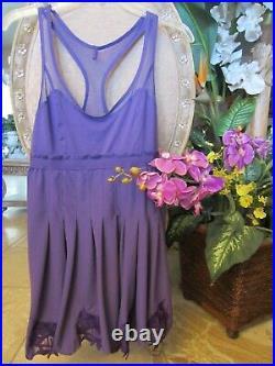 RARE ADIDAS by STELLA McCARTNEY TENNIS PURPLE Dress MEDIUM EUC