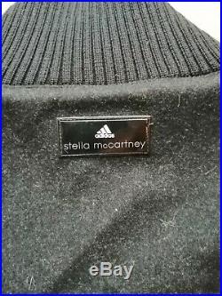 STELLA McCARTNEY ADIDAS BLACK IMAGE JACKET SIZE 38 UK12