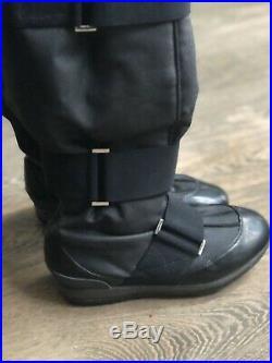 STELLA McCARTNEY Adidas Black Snow Tall Waterproof Insulate Boots Women's