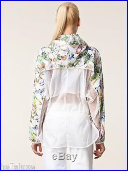 STELLA McCARTNEY adidas IMAGE PRINT sweat shirt Hoodie dress JacketWomens sz XS
