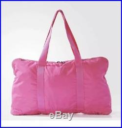 Stella McCartney Women Handbag Adidas Pink Yoga Gym Large Purse Athletic Bright